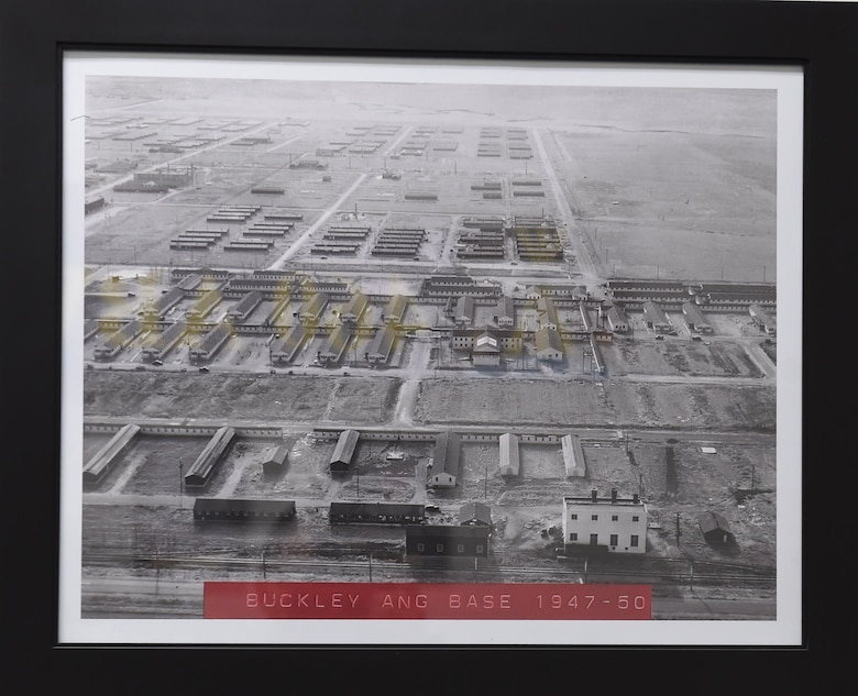An aerial view of the Naval Air Station-Denver from 6th Street. (Courtesy Photo)