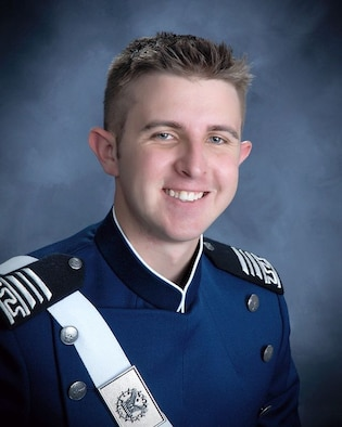 Cadet 1st Class Alex Quiros was identified by Air Force Academy officials April 3 as the cadet who died on base April 2. (U.S. Air Force photo)