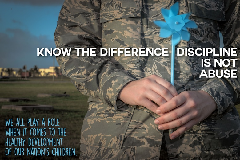 Throughout the month of April, the 36th Medical Operations Squadron Family Advocacy Program will hold events that promote the prevention of child abuse for Child Abuse Prevention Month at Andersen Air Force Base, Guam. The pinwheel was adopted as the awareness symbol to represent a healthy, happy and safe childhood. (U.S. Air Force illustration by Senior Airman Katrina M. Brisbin/Released)