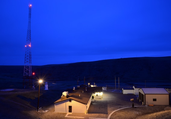 The sun begins to rise March 16, 2015, at a missile alert facility near Malmstrom Air Force Base, Mont. The MAF is guarded and manned around the clock as to ensure the alert status of the 10 launch facilities it is responsible for. (U.S. Air Force photo/Airman 1st Class Dillon Johnston)