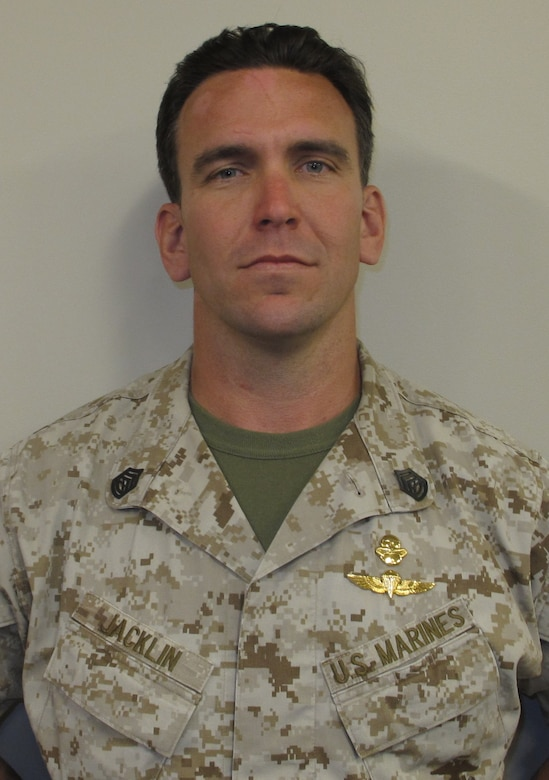 Gunnery Sgt. Brian C. Jacklin, a critical skills operator with 1st Marine Special Operations Battalion, U.S. Marine Corps Forces Special Operations Command, will be awarded the Navy Cross for his heroic actions while deployed to Afghanistan in 2012.