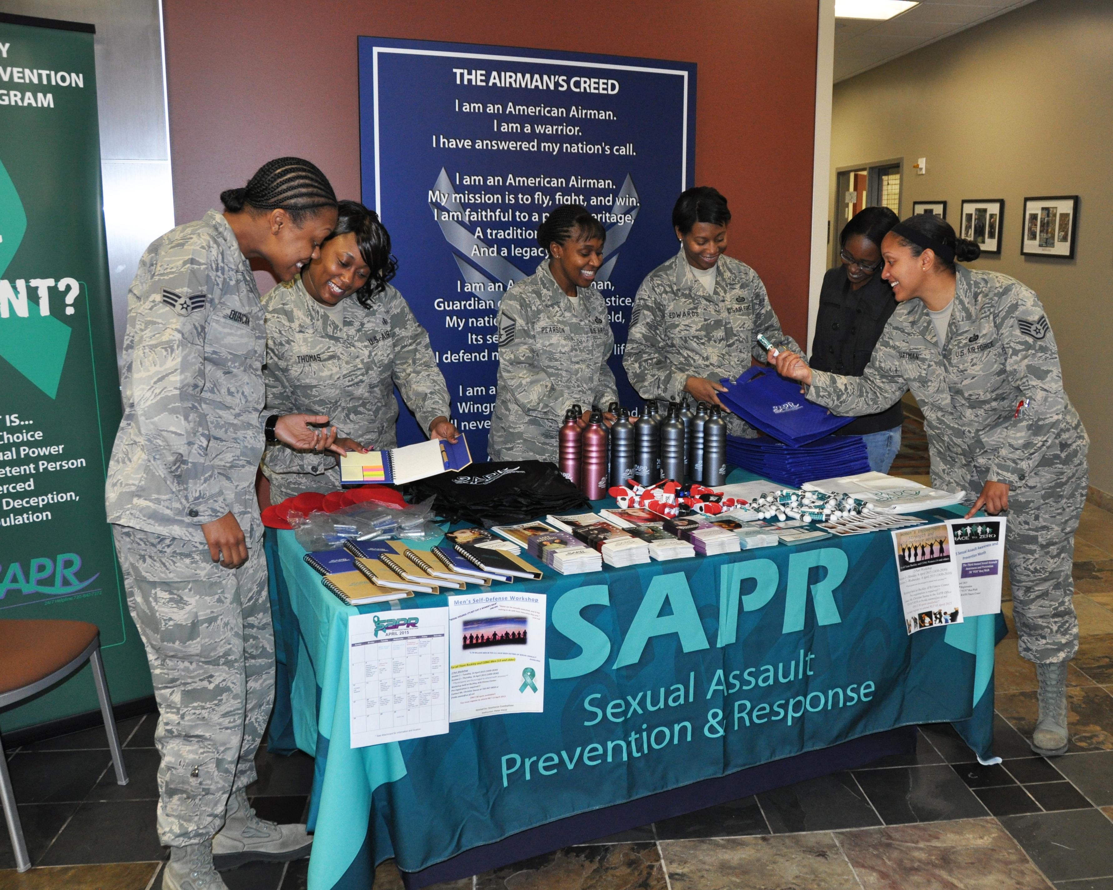ARPC commander's message: Sexual Assault Awareness Month
