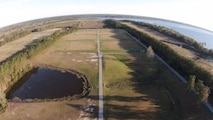 View of Weapons Training Battalion Charlie Range Stone Bay located at Stone Bay (Camp Lejeune), North Carolina.