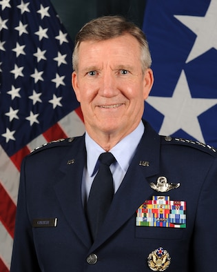 Gen. Hawk Carlisle, the commander of Air Combat Command. (U.S. Air Force photo)