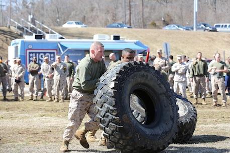 MCIOC Marines participate in the MCB Quantico Field Meet