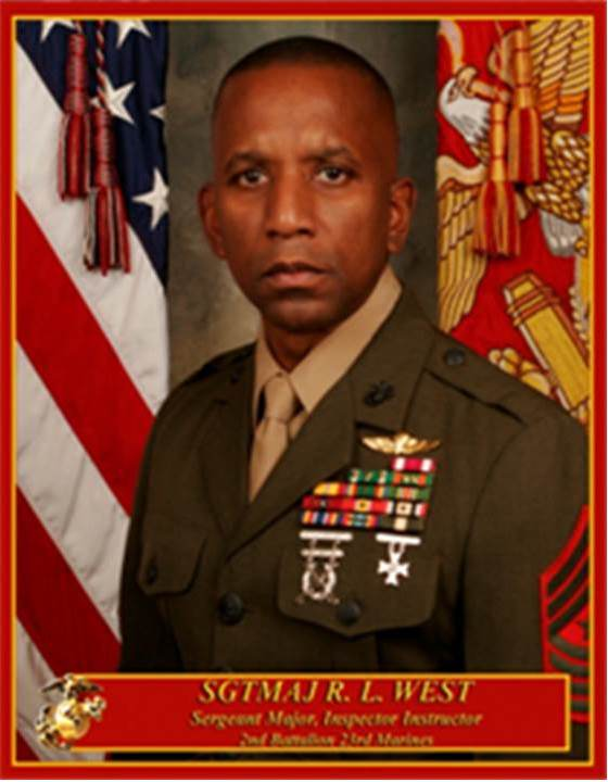 Inspector Instructor Sergeant Major 4th MAW Site Support Marine