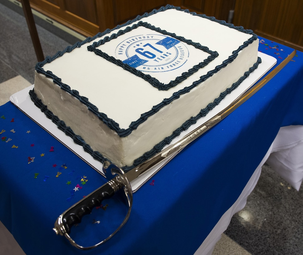 "Air Force Chief of Staff Gen. Mark A. Welsh III celebrated the Air Force Reserve's 67th birthday by hosting a cake cutting ceremony in the Pentagon, April 6, 2015, Washington, D.C. Also on hand for the ceremony was Vice Chief of Staff Gen. Larry Spencer, Chief of the Air Force Reserve Lt. Gen. James ""JJ"" Jackson, and the junior most ranking member in the Office of the Air Force Reserve (RE), Staff Sgt. Ivanka Vrechkov, who is the Non-Commissioned Officer in Charge of Policy Integration for RE. The Air Force Reserve was established on April 14, 1948 by President Harry S. Truman, seven months after the active duty Air Force was established as a separate service. Originally, the Air Force Reserve was a standby force for use in wartime and national emergencies. The Air Force Reserve has worked closely with their active duty counterparts since the first associate unit stood up at Norton Air Force Base, Calif. in 1968. The Air Force Reserve also performs unique missions such as  aerial fire fighting, aerial spray and weather reconnaissance. (U.S. Air Force photo/Jim Varhegyi)"