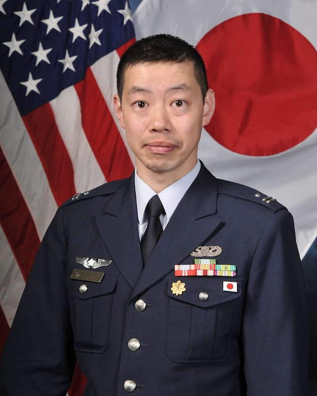 Maj. Ueda teaches five classes at the Academy through the Military Personnel Exchange Program. (U.S. Air Force/ courtesy photo)