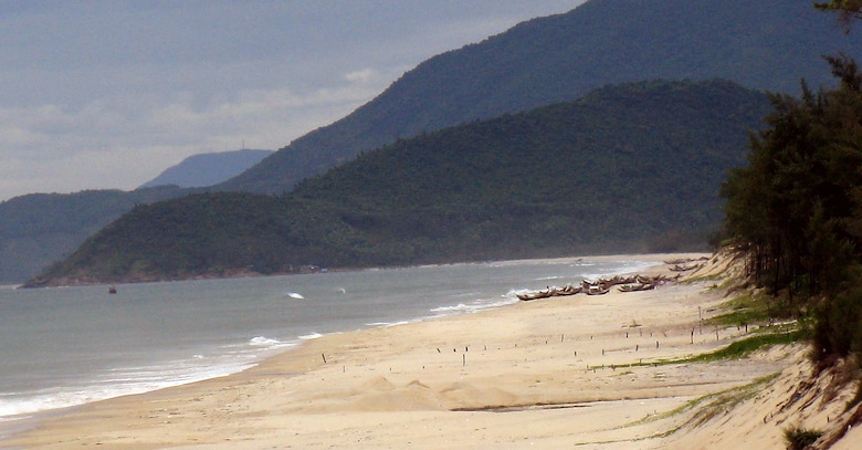 This is the beach from which Karl Mai and 18 others jammed into a tiny fishing boat to escape the oppression of Vietnam in 1981. Mai has revisited Vietnam several times since the government opened to outside trade and tourism.