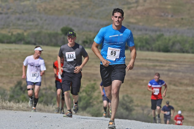 Camp Pendleton held the 2015 Heartbreak Ridge Run, April 11. The event is an off-road running race held in the northwestern foothills of the base. It is comprised of a half marathon, and 10 km, five km and one km races.