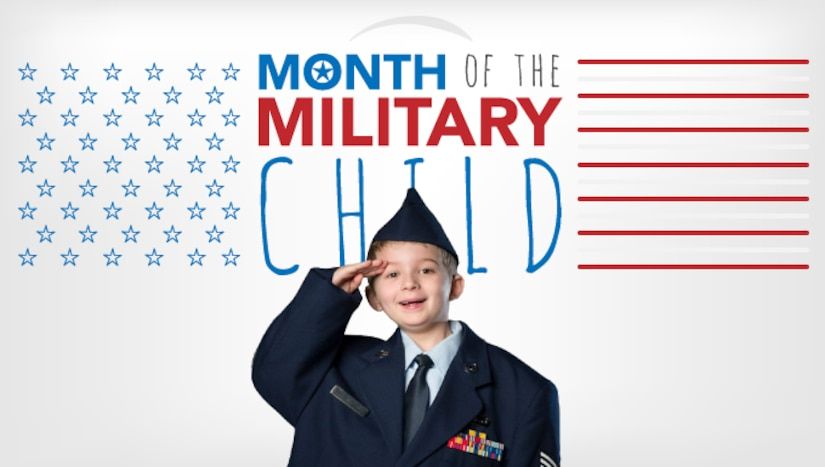 April is the Month of the Military Child.  (Courtesy graphic)
