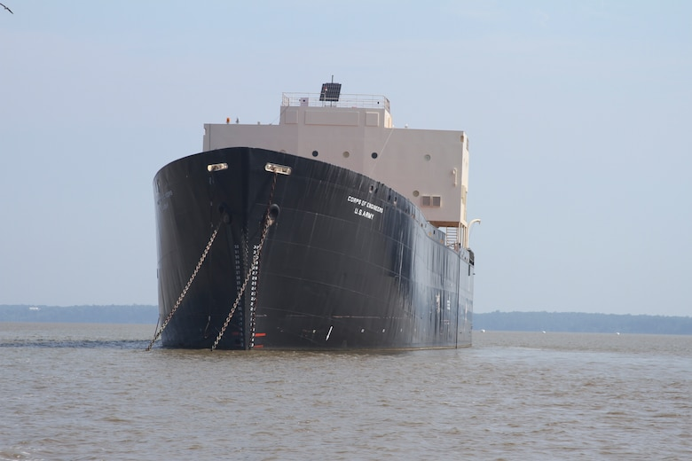 The STURGIS, a former World War II Liberty Ship, was converted into the first floating nuclear power plant in the 1960s sits idle in the James River Reserve Fleet at Joint Base Langley Eustis, Virginia; where it has been stored and maintained since 1978. The Baltimore District, U.S. Army Corps of Engineers will tow the STURGIS barge 1,750 miles to Galveston, Texas for decommissioning