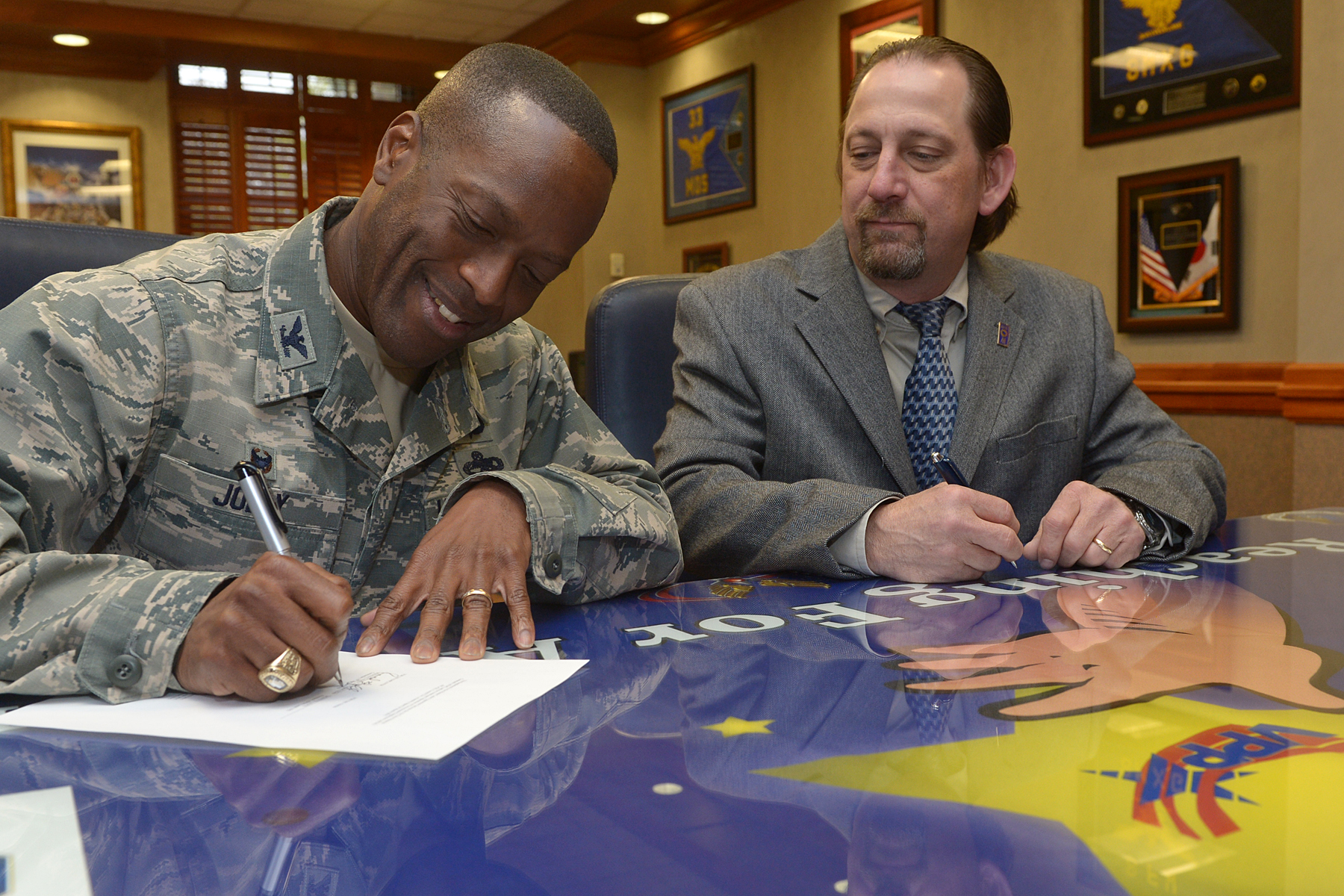 Agreement Reached On Hill Afb Supplement To Master Labor Agreement