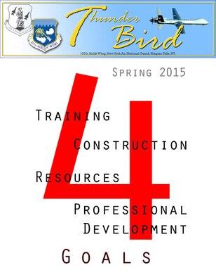 ThunderBird Spring 2015 (U.S.Air National Guard Graphic/107th Public Affairs)