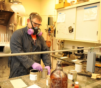 The paint experts at CERL's Paint Technology Center (PTC) have at their disposal an extensive array of laboratory equipment and instrumentation to conduct tests and evaluations and perform research and development on a broad range of coating types.