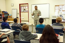 Lt.Gen.Thomas Bostick, Chief of Engineers and Commanding General of the U.S. Army Corps of Engineers, visited Zama American Middle School to meet and talk with students about the importance of Science, Technology, Engineering and Mathematics (STEM).