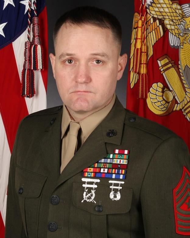 Sergeant Major Daniel J. Warren, 2nd Radio Battalion sergeant major