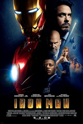 "The Air Force Museum Theatre will show ""Iron Man"" at 4 p.m. on April 26, 2015, as part of its Hollywood Series, sponsored by Cassano's Pizza King."