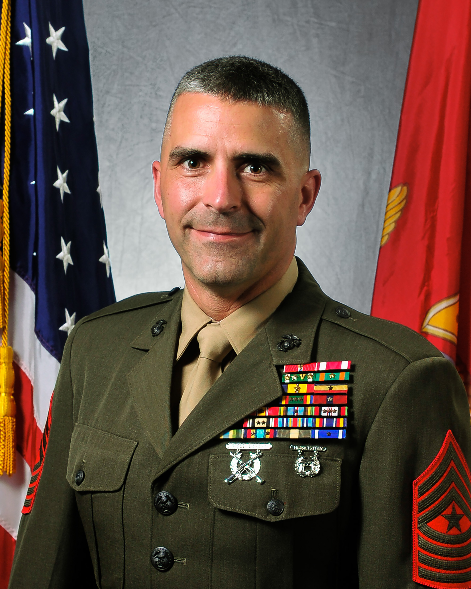 Sergeant Major Marc R. Chabot > Marine Corps Security ...