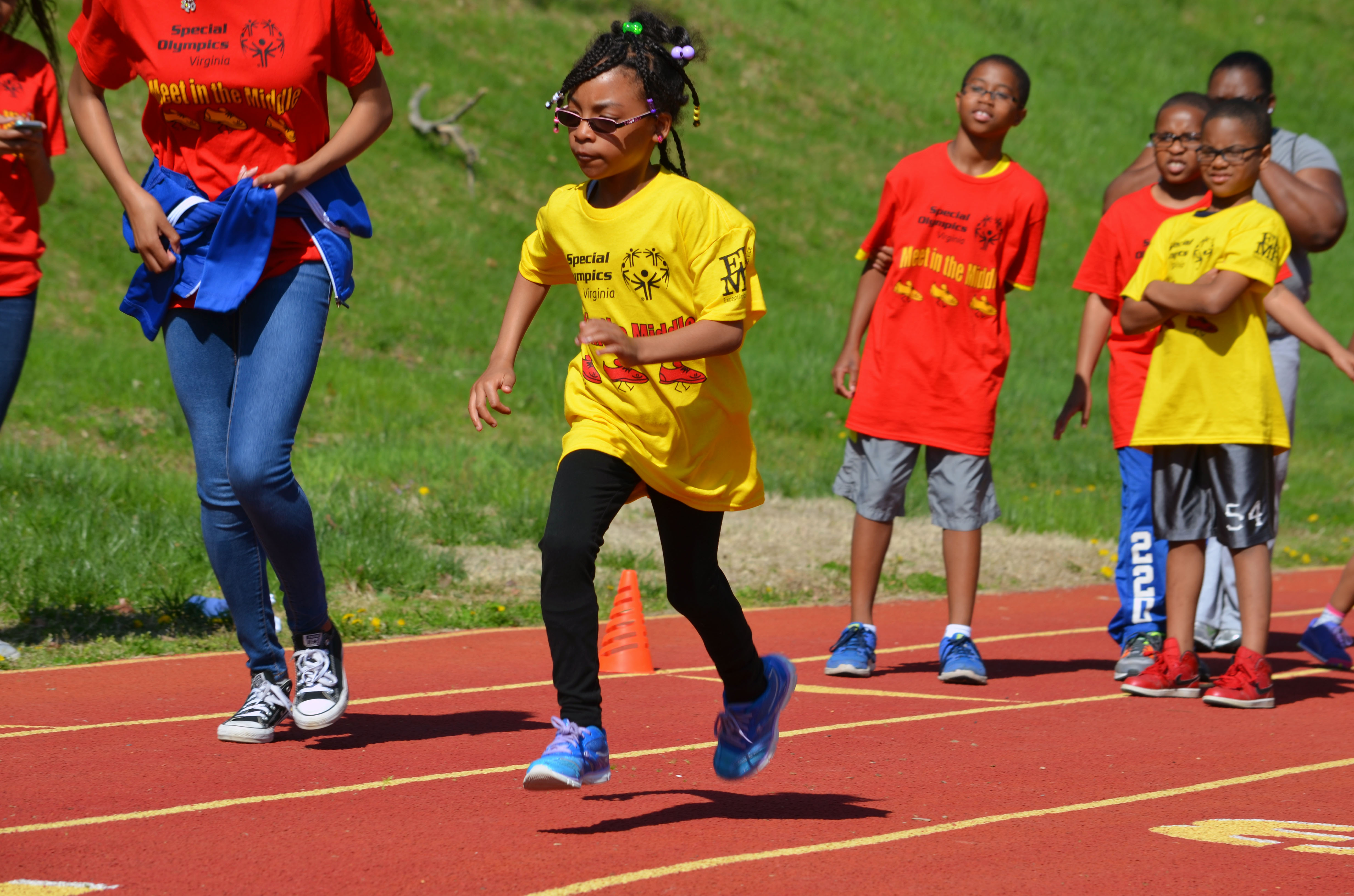 Special Olympics' 'Meet in the Middle' held at Butler Stadium