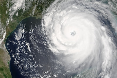"""Katrina is comparable in intensity to Hurricane Camille of 1969, only larger,"" warned the National Hurricane Center on Sunday, Aug. 28, 2005. By this time, Hurricane Katrina was set to become one of the most powerful storms to strike the United States, with winds of 160 miles per hour and stronger gusts."
