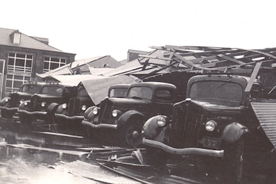 The 1940 South Carolina hurricane was a Category 2 hurricane.