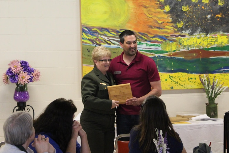 Rend Lake Natural Resource Specialist Dawn Kovarik has become the first employee in the Corps of Engineers to be selected Non-Formal Educator of the Year for 2015 by the Environmental Education Association of Illinois.