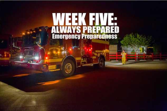 Fire season is approaching and residents aboard base should know about some emergency preparedness guidelines, from setting up communications and pre-evacuation checklists to signing up for an emergency alert notification system.