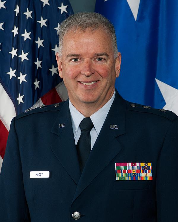 Maj Gen John McCoy