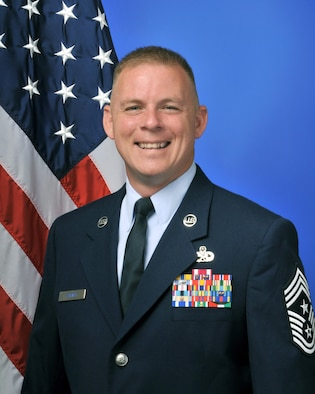 CMSgt Christopher L. Barnby Bio Photo