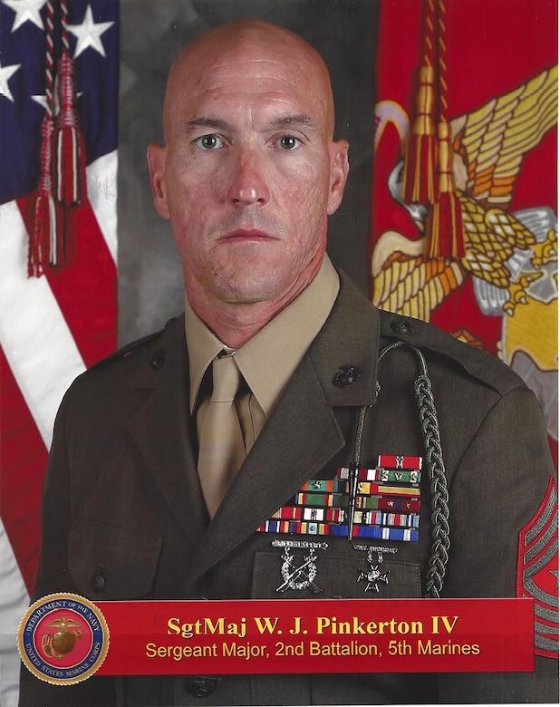 SgtMaj Pinkerton, W.J.
