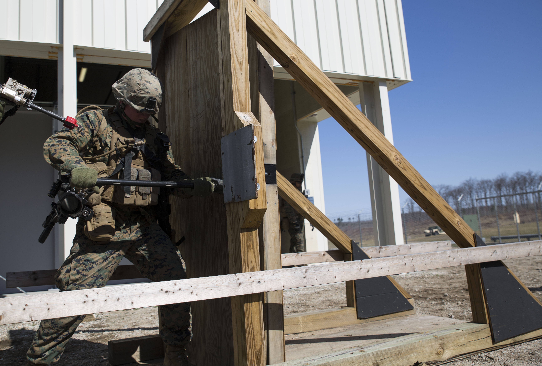 1 24 Marines Prepare For Urban Warfare At Arctic Eagle