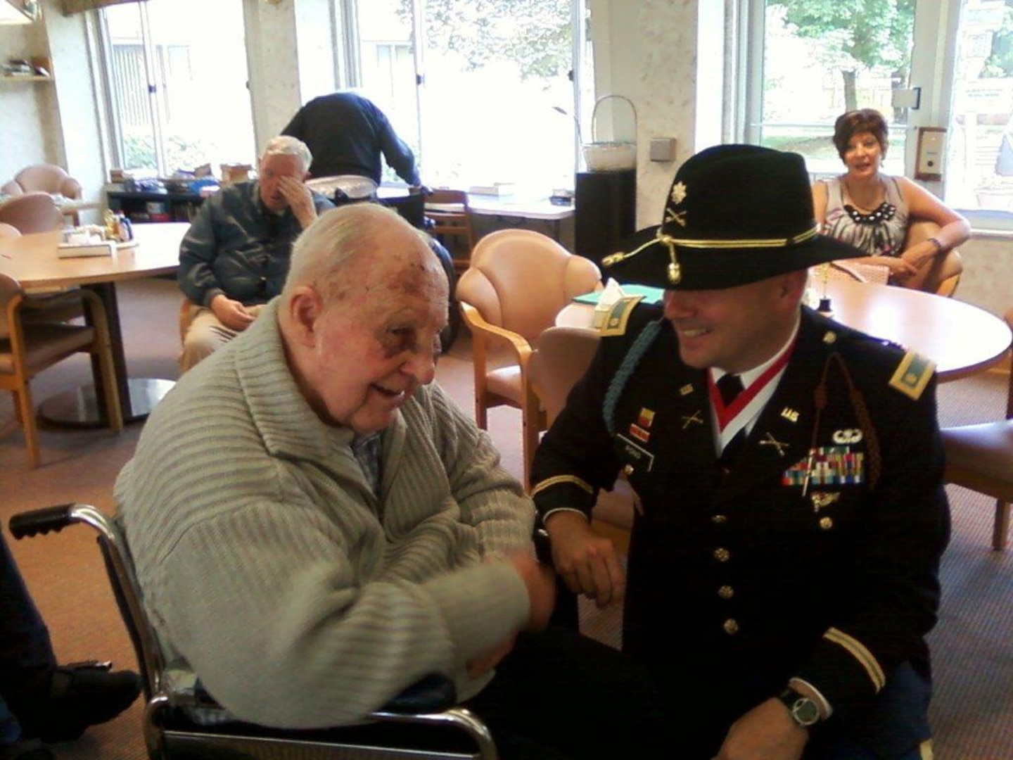 """1st Lt. Benjamin Morin, the first U.S. tank commander to engage enemy forces in World War II and the last surviving officer of the National Guard's famed 192nd Tank Battalion, has died at a retirement home for Catholic priests in Michigan. """"Here's a gentleman that endured unspeakable horrors at the hands of others, but he wouldn't speak a bad word about anyone,"""" one Soldier said. """"The most he would say about his Japanese captors was 'They were not the nicest people.'"""""""