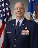 Official Air Force Image: BGen Christopher Eddy Bio Photo