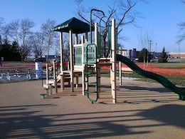 The Corps recently completed this ADA accessible community park at Wright-Patterson Air Force Base, Dayton, Ohio.