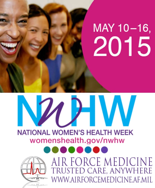 Womens Health Week May 2015 (AF Graphic / Steve Thompson)