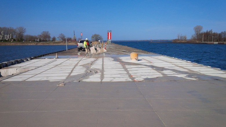 The U.S. Army Corps of Engineers, Buffalo District awarded a contract for approximately $950,000 to Huffman Equipment Rental & Contracting, Inc., East Lake, OH to repair damages caused during Super Storm Sandy to the Erie South Pier, Erie, PA.