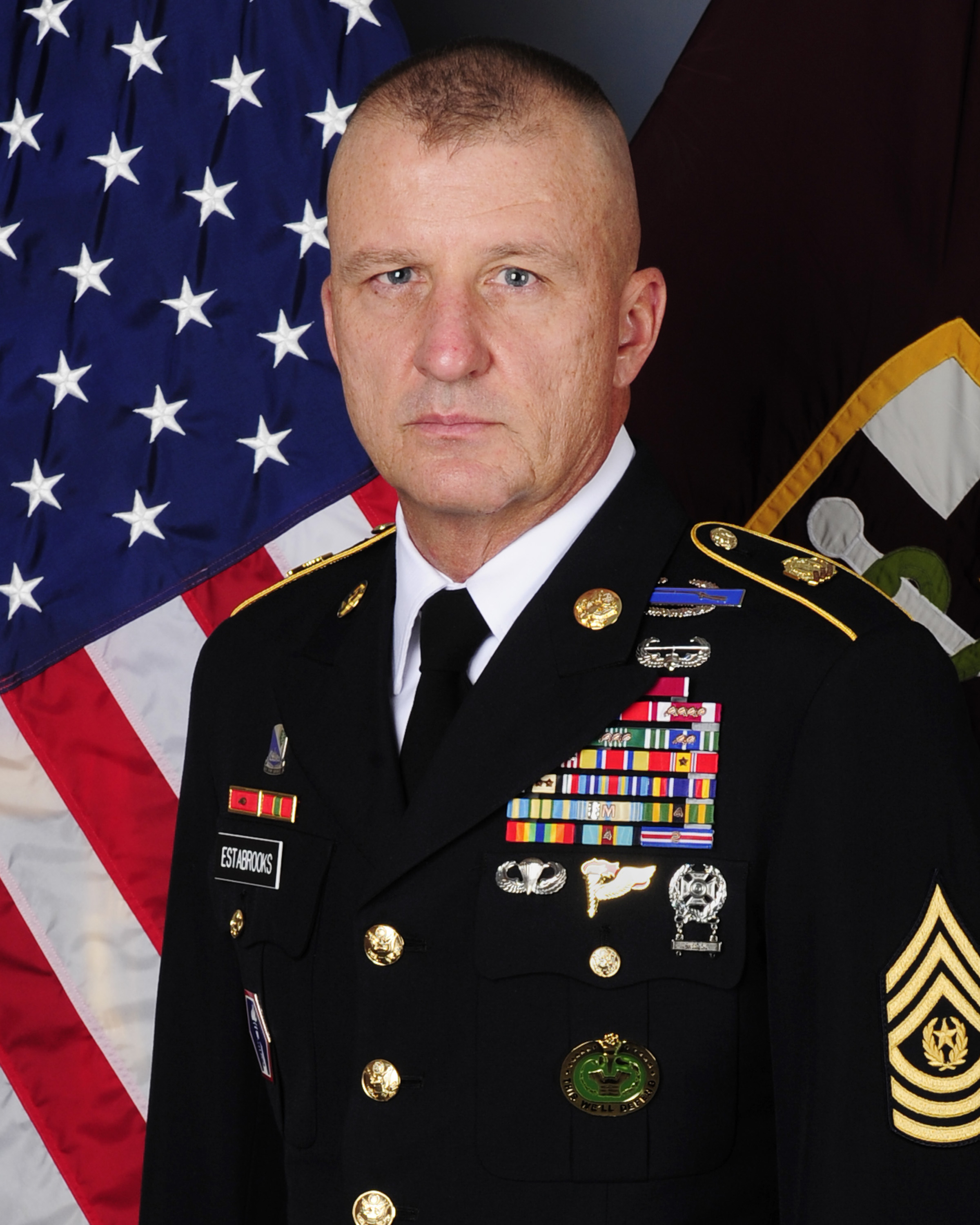 Best Military Branch To Join >> Command Sergeant Major Harold P. Estabrooks > U.S. Army Reserve > Article View