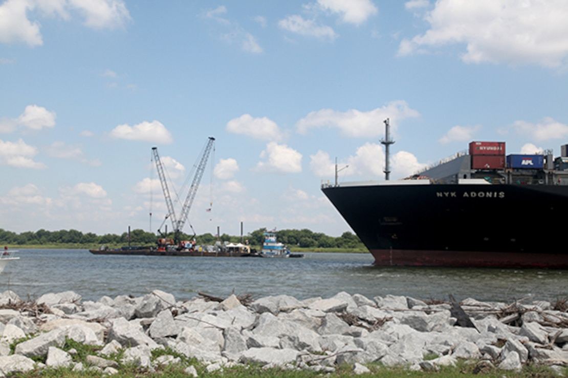 Progress on the Savannah Harbor Expansion Project, known as SHEP, shifts into high gear as four major milestones are reached in the first week of August.