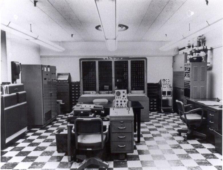 Readix Computer in Building 828 - 1958