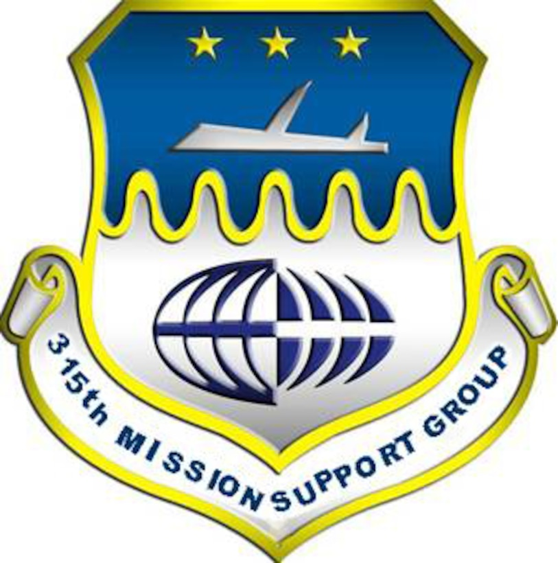 315th Mission Support Group patch.