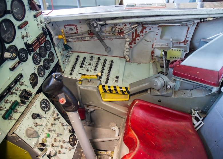 DAYTON, Ohio -- North American X-15A-2 cockpit at the National Museum of the United States Air Force. (U.S. Air Force photo)