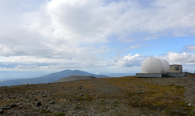 The Indian Mountain long-range radar site is one of many sites with a mission is to track aircraft in Alaska's airspace and along Alaska's borders for unauthorized aircraft. The sites aid in the ongoing defense of U.S. airspace. (U.S. Air Force photo/Airman 1st Class Kyle Johnson)