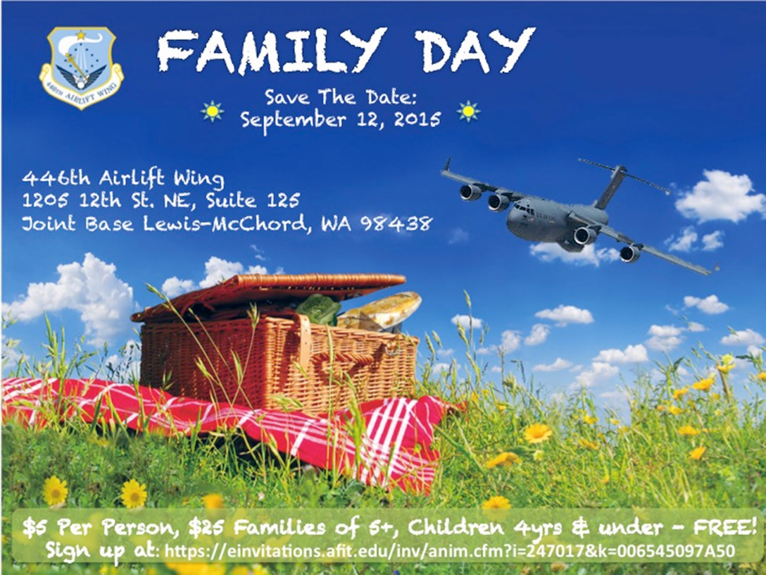 This year's wing Family Day Event is Sept. 12, during the UTA weekend.