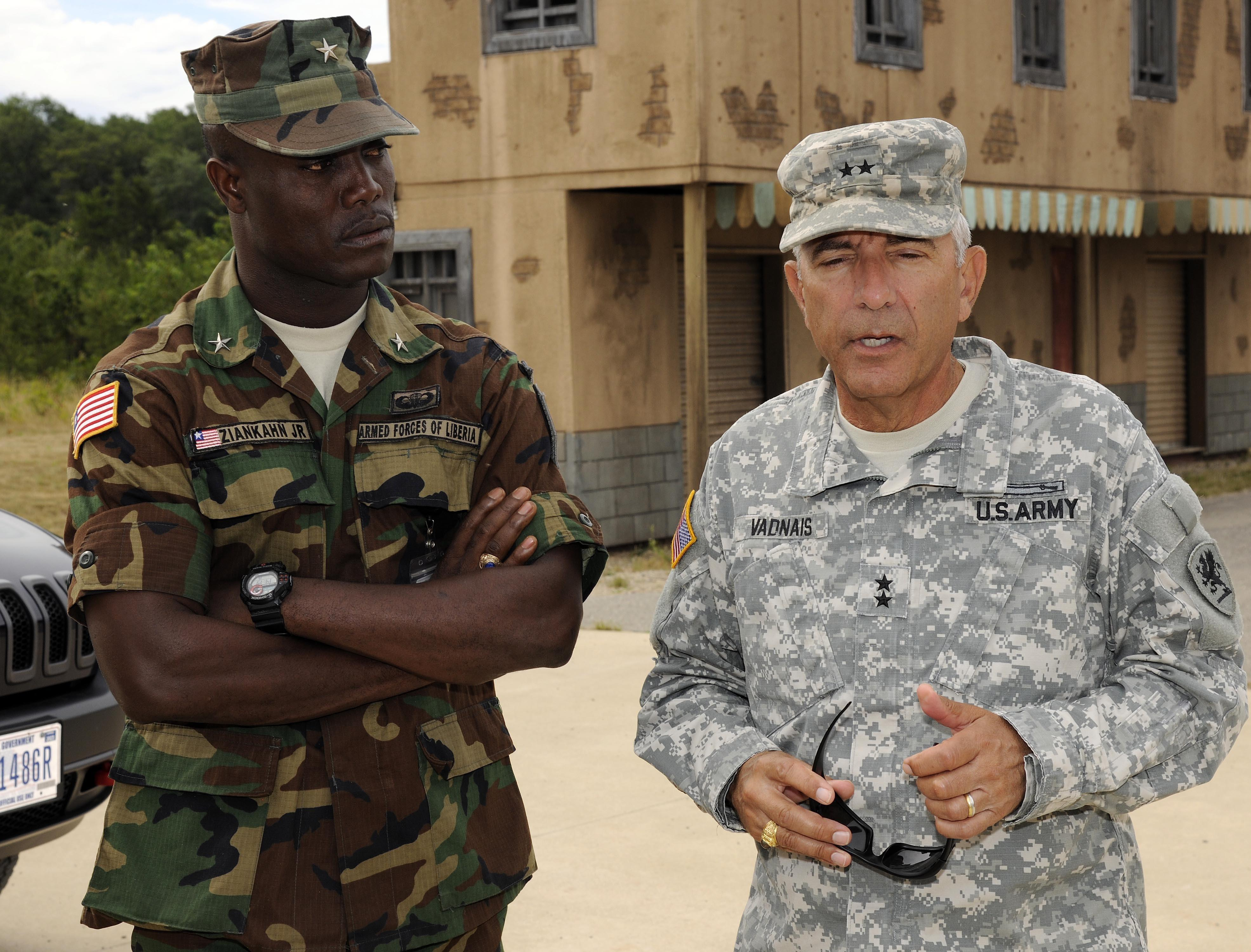 Liberian general visits Michigan under State Partnership