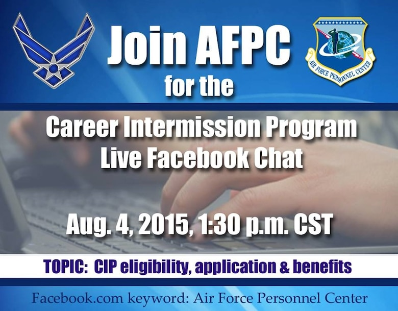 AFPC hosts FB live chat on Career Intermission Program > Air