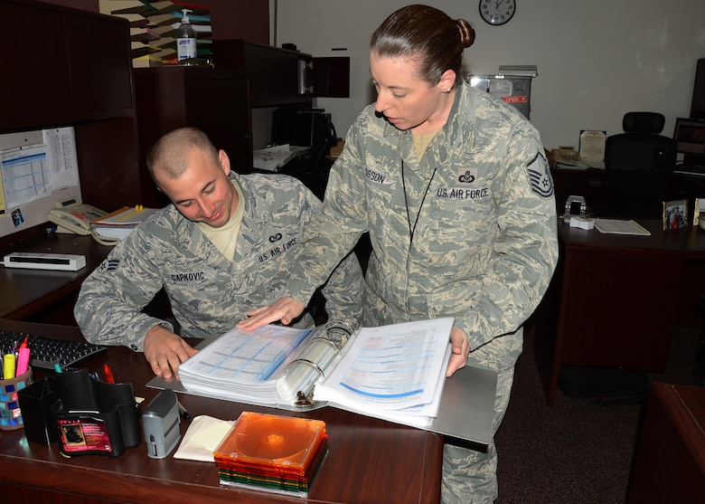 Mentoring is a critical component of the Air Force's Force Development Construct. It is normally a relationship in which a person with greater experience and wisdom guides another person to develop both personally and professionally.   For more information and to register:  https://afvec.langley.af.mil/myvector/Home/Mentoring   (U.S. Air National Guard photo by Airman 1st Class Halley Burgess)