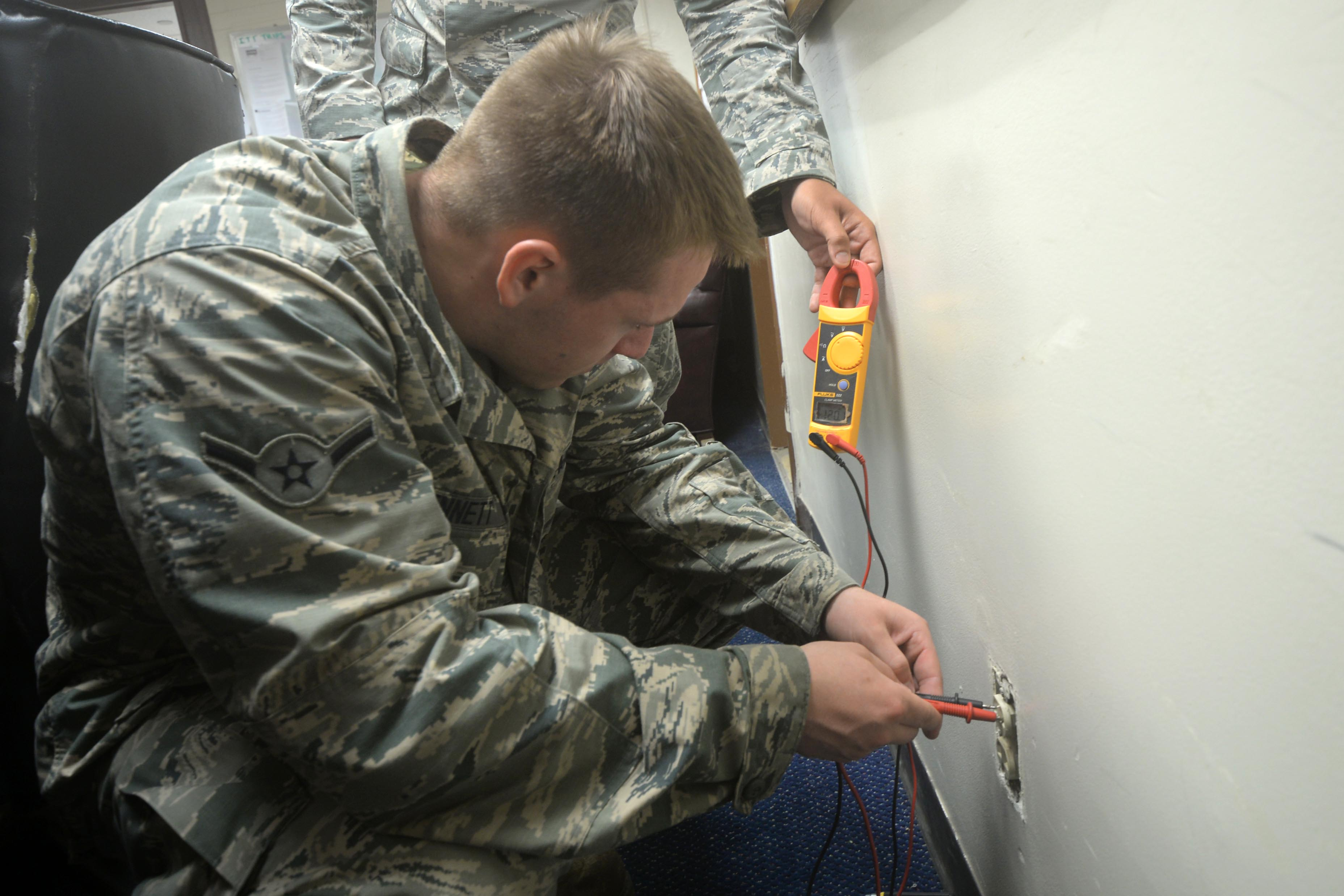 Electrical system specialists provide mission with plenty of power ...