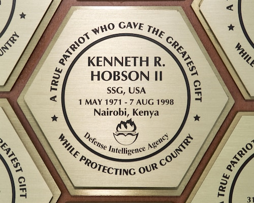 Aug. 7 marks the 17th anniversary of the death of Army Staff Sgt. Kenneth R. Hobson II, who was killed in the terrorist bombing of the U.S. Embassy in Nairobi, Kenya.
