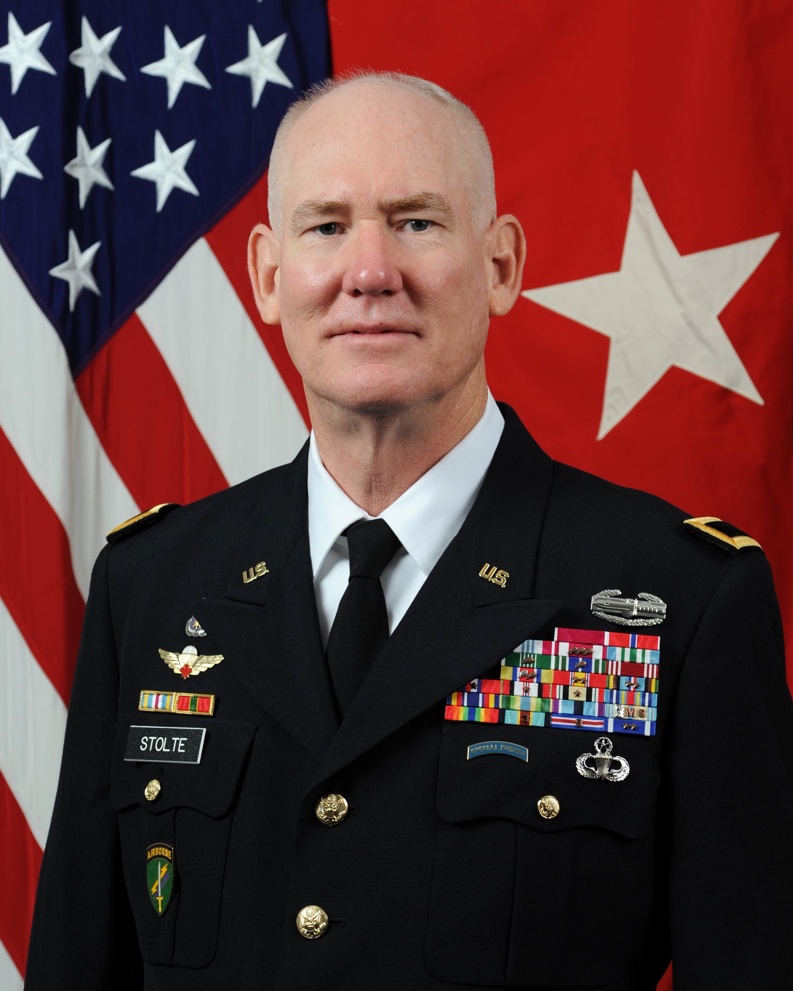 Brigadier General Alan L Stolte & Gt Us Army Reserve